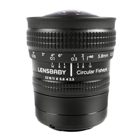 Lensbaby Circular Fisheye Samsung NX - Autoscatto Store product_reduction_percent