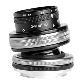 Lensbaby Composer Pro II incl. Sweet 80 Optic Canon EF - Autoscatto Store