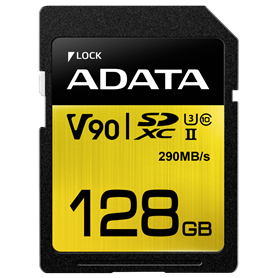 ADATA SDXC UHS-II U3 Class 10 128GB Premier One - Autoscatto Store product_reduction_percent