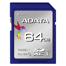 ADATA SDXC UHS-I Class 10 64GB Premier - Autoscatto Store product_reduction_percent