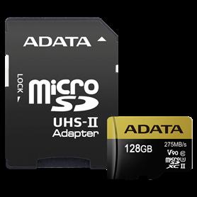 ADATA microSDXC UHS-II U3 128GB Premier One con adatt. - Autoscatto Store product_reduction_percent