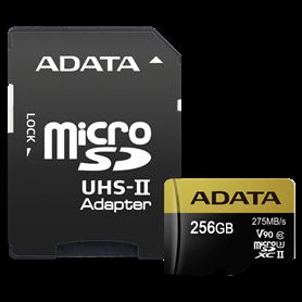 ADATA microSDXC UHS-II U3 256GB Premier One con adatt. - Autoscatto Store product_reduction_percent