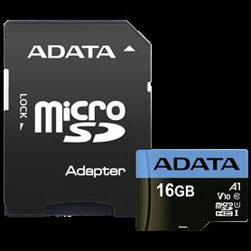 ADATA microSDHC UHS-I Class 10 16GB Premier con adatt. A1 - Autoscatto Store product_reduction_percent