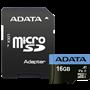 ADATA microSDHC UHS-I Class 10 16GB Premier con adatt. A1