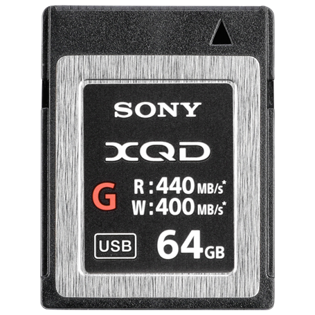 Sony XQD Memory Card G      64GB