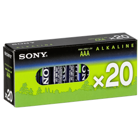 1x20 Sony Alkaline Multipack Mignon AA LR 6    AM4-M20X - Autoscatto Store product_reduction_percent