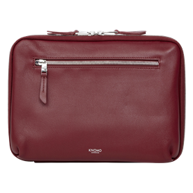Knomo Mayfair Luxe Knomad Tech Organiser 10.5 burgunder - Autoscatto Store product_reduction_percent