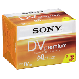 1x3 Sony DVM 60 Premium o. Chip - Autoscatto Store product_reduction_percent