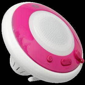 Conceptronic Wireless waterproof floating speaker light pink - Autoscatto Store