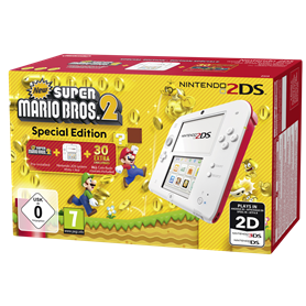 Nintendo 2DS bianco-rosso incl. New Super Mario Bros. 2 - Autoscatto Store product_reduction_percent