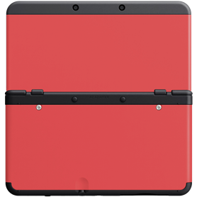Nintendo New 3DS Cover 018 rosso - Autoscatto Store product_reduction_percent