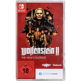 Nintendo Switch Wolfenstein II: The New Colossus USK 18 - Autoscatto Store