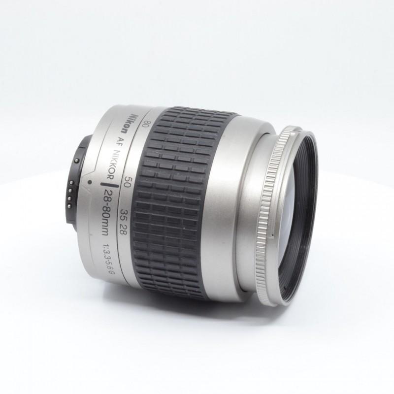 Nikon AF 28-80/3,5-5,6 G silver - Nikon - Autoscatto Store