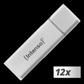 10x1 Intenso Alu Line    16GB USB Stick 2.0 argento - Autoscatto Store