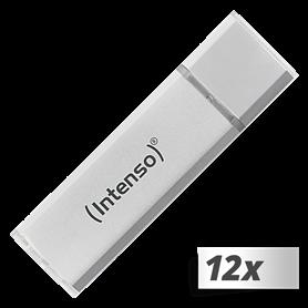 10x1 Intenso Alu Line 8GB USB Stick 2.0 argento - Autoscatto Store