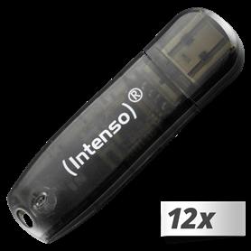 10x1 Intenso Rainbow Line  16GB USB Stick 2.0 - Autoscatto Store