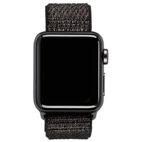 Apple Watch 3 GPS + Cell 38mm Space Grey Alu Case nero Sport - Autoscatto Store product_reduction_percent