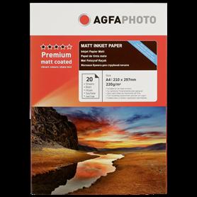 AgfaPhoto Premium Double Side Matt-Coated 220 g A 4 20 fogli - Autoscatto Store product_reduction_percent