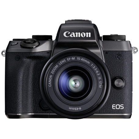 Canon EOS M5 Kit + EF-M 3,5-6,3/15-45 IS STM - Autoscatto Store