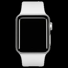 Apple Watch Series 3 GPS 38mm argento Alu bianco Sport nastr - Autoscatto Store