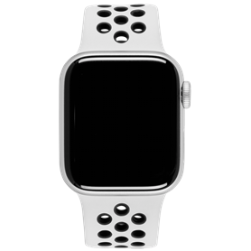 Apple Watch Nike+ Series 4 GPS Cell 44mm argento Alu Nike Ba - Autoscatto Store