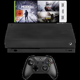 Microsoft Xbox One X 1TB Metro Saga Bundle - Autoscatto Store