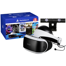 Sony Playstation VR Megapack V2 Camera, 5 Games USK 18