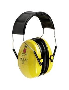Peltor Optime I H510A cuffia antirumore 27 dB giallo