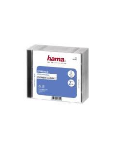 1x5 Hama custodia CD doppia 44745