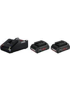 Bosch Starter kit Standard 2x ProCORE18V 4.0Ah + GAL 18V-40