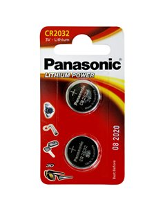 1x2 Panasonic CR 2032 Lithium Power